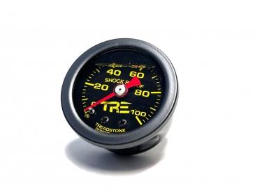 Black - Liquid Filled Fuel Pressure Gauge